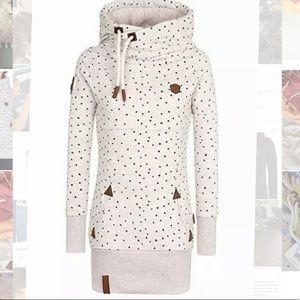 NWT long Naketano hoodie